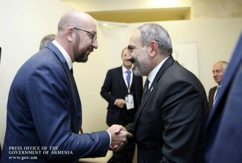 Հայկական կողմի նախաձեռնությամբ տեղի է ունեցել վարչապետ Փաշինյանի հեռախոսազրույցը Եվրոպական խորհրդի նախագահ Շառլ Միշելի հետ
