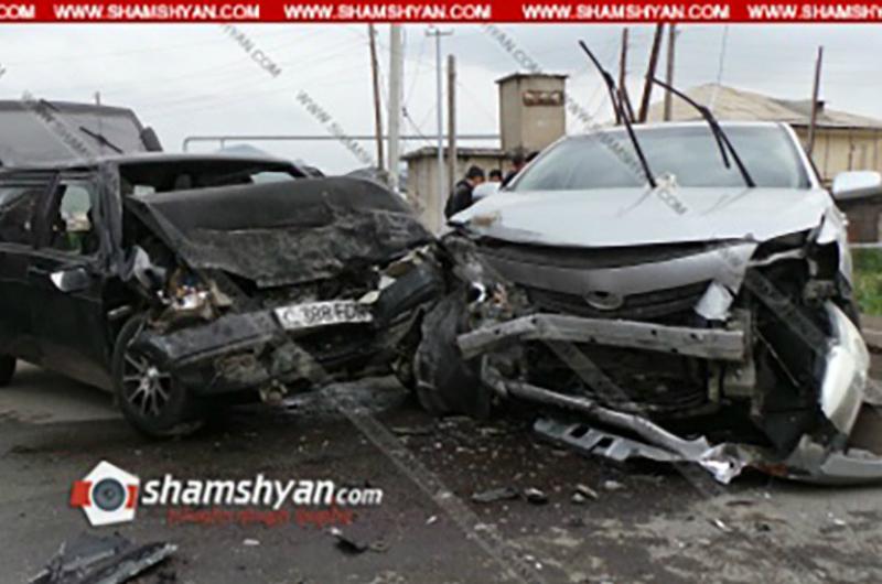 Գեղարքունիքում բախվել են Toyota Corolla-ն ու ВАЗ 2109-ը, վարորդներից մեկը տեղում մահացել է. Shamshyan.com