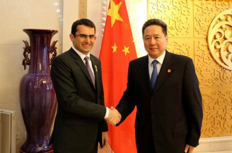 Հակոբ Արշակյանը Չինաստանի իր գործընկերոջ հետ քննարկել է 2 երկրների միջև ուղիղ չվերթների հարցը