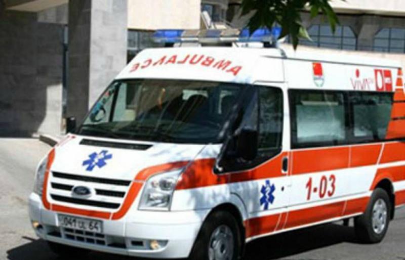 Պատահարի հետևանքով 4-ամյա երեխան տեղափխվել է հիվանդանոց