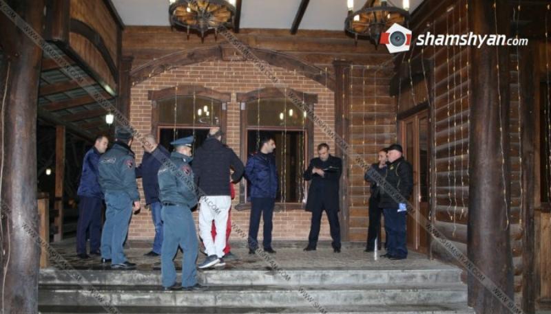 «Պարտեզ» ռեստորանում տեղի ունեցած զինված միջադեպի գործով ձերբակալվել է ևս 4 անձ