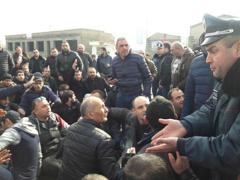 Երևան- Էջմիածին ճանապարհը բացվեց