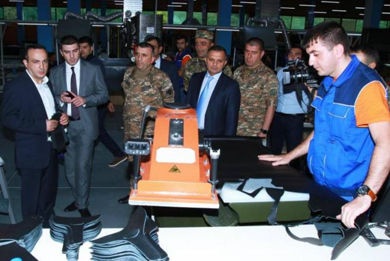 ՊԲ զինծառայողներին մատակարարվել է նոր ճտքակոշիկների երկրորդ խմբաքանակը