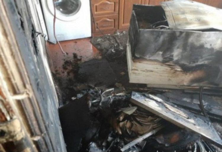 Հոռոմ գյուղում այրվել է տան խոհանոցը՝ կահույքի հետ