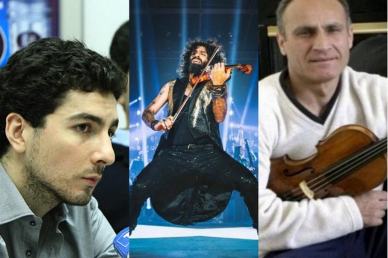 Երեք հայ ջութակահարներ ներառվել են 30 լավագույն ջութակահարների ցանկում