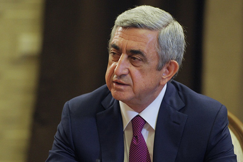 Սերժ Սարգսյանի գրասենյակը արձագանքել է ՀՀ 3-րդ նախագահի ՀՔԾ կողմից առաջադադրած մեղադրանքը