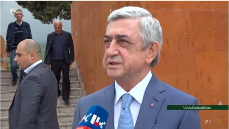 Բացառիկ հարցազրույց Սերժ Սարգսյանի հետ