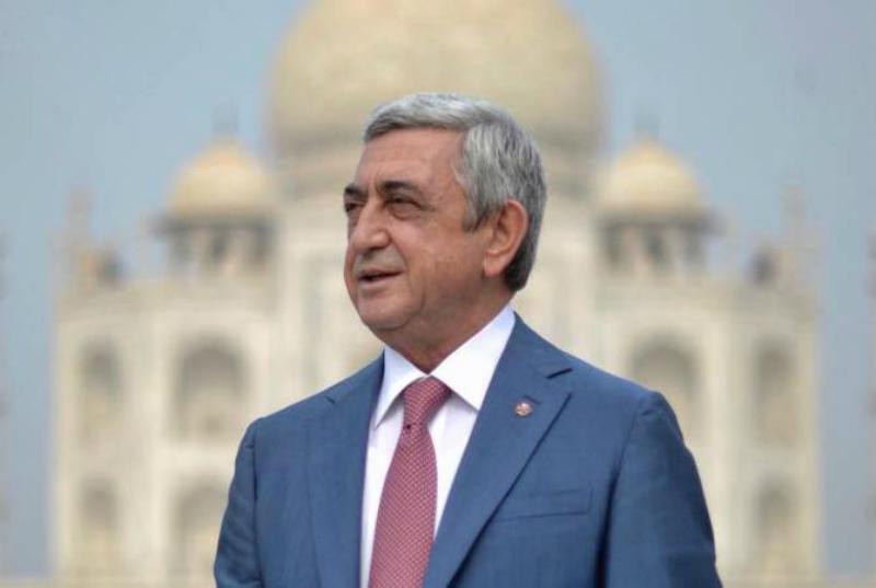 Սերժ Սարգսյանը մեկնում է Արցախ