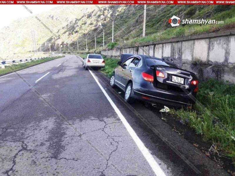 Ավտովթար Գեղարքունիքում. 40-ամյա վարորդը Nissan-ով դուրս է եկել երթևեկելի գոտուց և հայտնվել առվի մեջ. Shamshyan.com