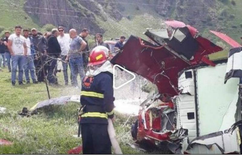 Վրաստանում ուղղաթիռի կործանման հետեւանքով 3 մարդ է զոհվել
