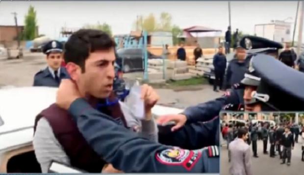 Լրագրողի գործունեությունը խոչընդոտել է Կոտայքի ոստիկանապետը. ուժ է կիրառվել. ՀՔԾ