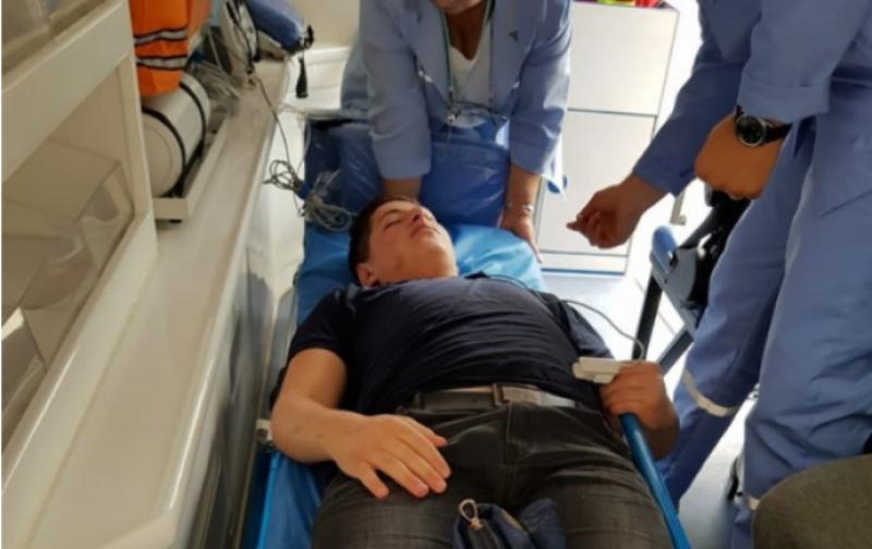 Չեխովի փողոցում ծեծի ենթարկված 16-ամյա տղան «Սուրբ Աստվածամայր» բժշկական կենտրոնում է