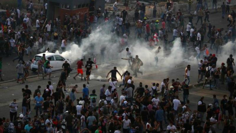 Բեյրութում ցույցերի ժամանակ տուժել է ավելի քան 728 քաղաքացի