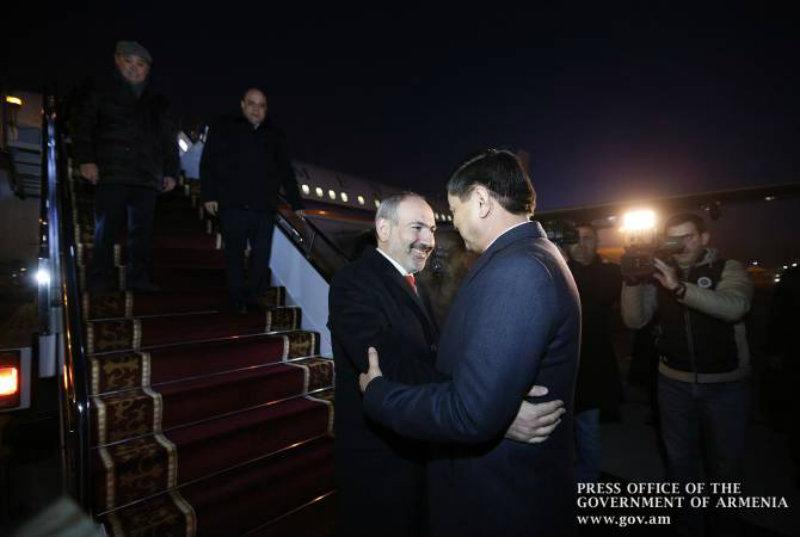 Աշխատանքային այցով Ղրղզստան է ժամանել ՀՀ վարչապետը