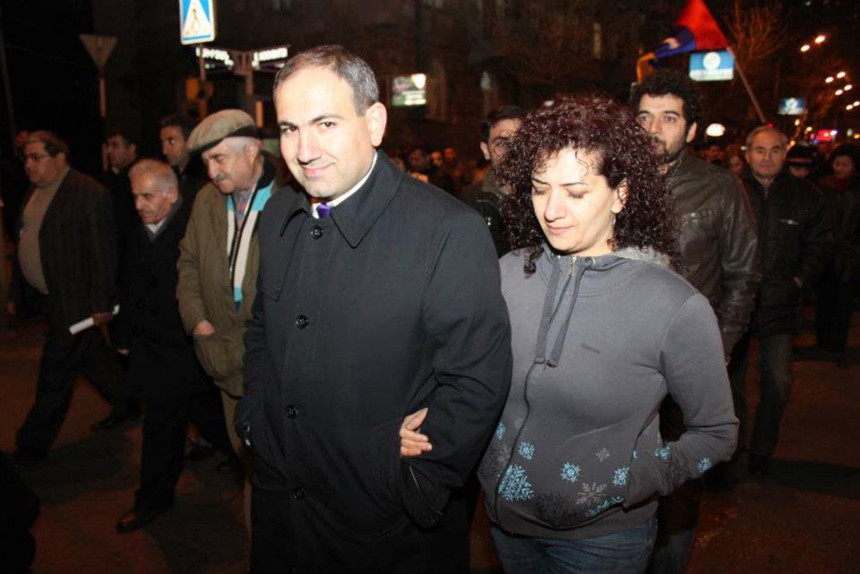 «Ենթադրվում է, որ սա Սերժ Սարգսյանի որոշումն էր». Փաշինյանի կինը՝ ոստիկանության գործողությունների մասին