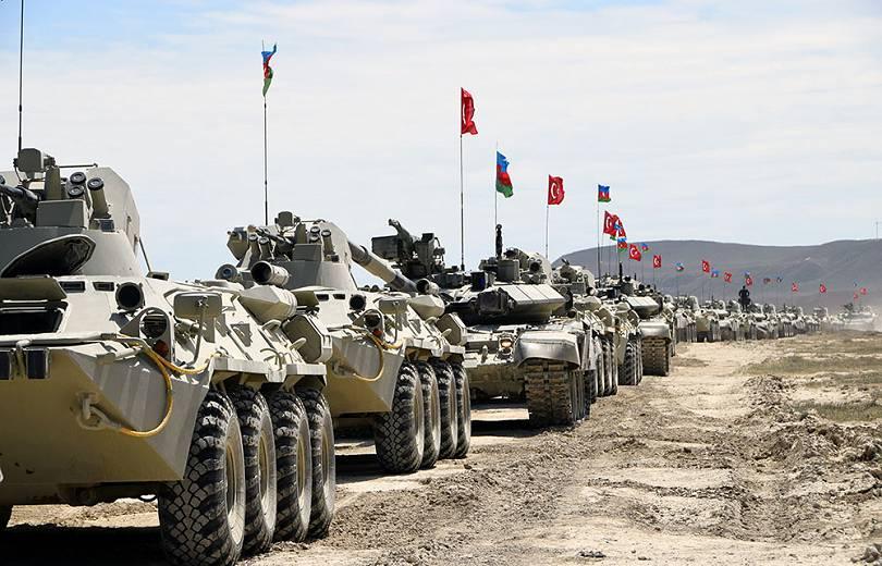 Հունիսի 7-11-ը Նախիջևանում թուրք-ադրբեջանական համատեղ զորավարժություններ կանցկացվեն