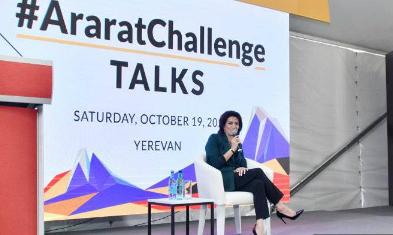 Աննա Հակոբյանը մասնակցել է Ararat challange փառատոնի բացման արարողությանը