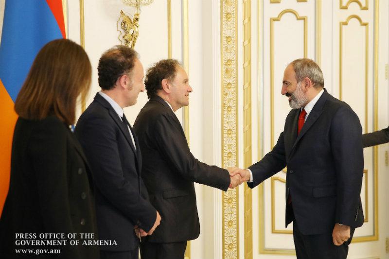 Նիկոլ Փաշինյանն այսօր ընդունել է Ֆրանսիայի հայկական կազմակերպությունները համակարգող խորհրդի համանախագահ Արա Թորանյանին