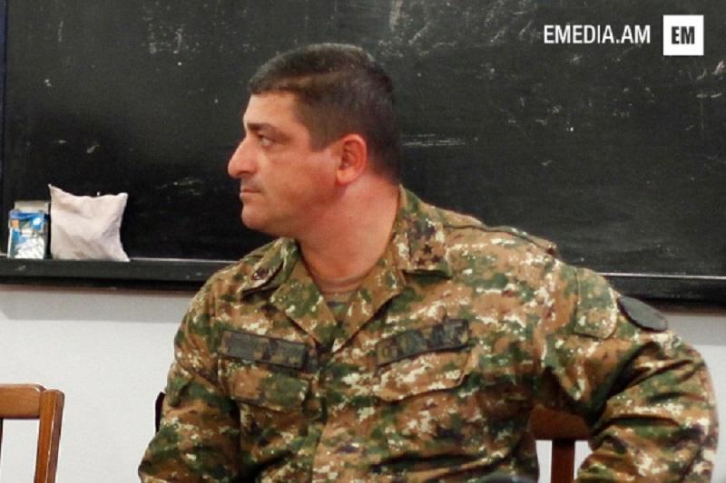 Արտակ Բուդաղյանը նշանակվեց ՀՀ ԶՈւ 4-րդ կորպուսի հրամանատար