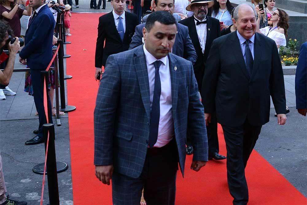 Արմեն Սարգսյանը ներկա է գտնվել «Ոսկե ծիրան» կինոփառատոնի բացմանը
