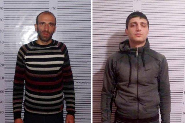 Տաշիրում ոստիկանները հանցանքի պահին բռնել են 2 տղամարդու․ (լուսանկարներ)