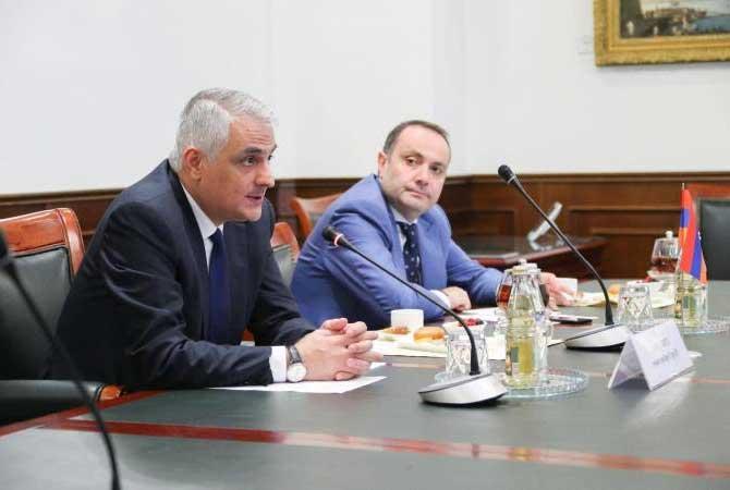 ՀՀ փոխվարչապետը Եվգենի Դիտրիխինի հետ քննարկել է հայ-ռուսական ներդրումային հիմնադրամի ստեղծման հարց