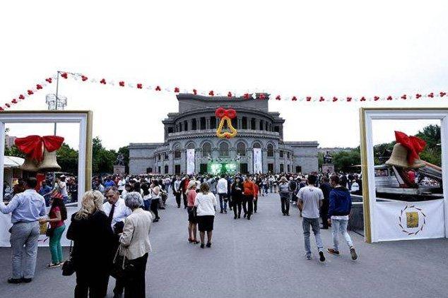 «Վերջին զանգի» գլխավոր միջոցառումը Երևանում կանցկացվի Ազատության հրապարակում