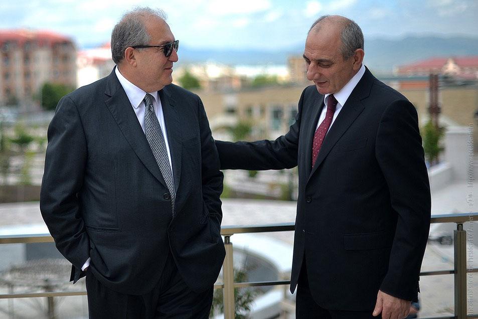 Հայաստանի և Արցախի նախագահները քննարկել են համագործակցության հարցերի լայն շրջանակ