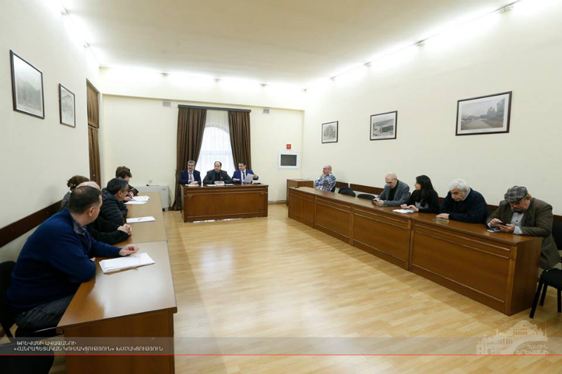 Մշակույթի, կրության և սոցիալական հարցերի մշտական հանձնաժողովի նիստ ՝ ավագանու նիստին ընդառաջ