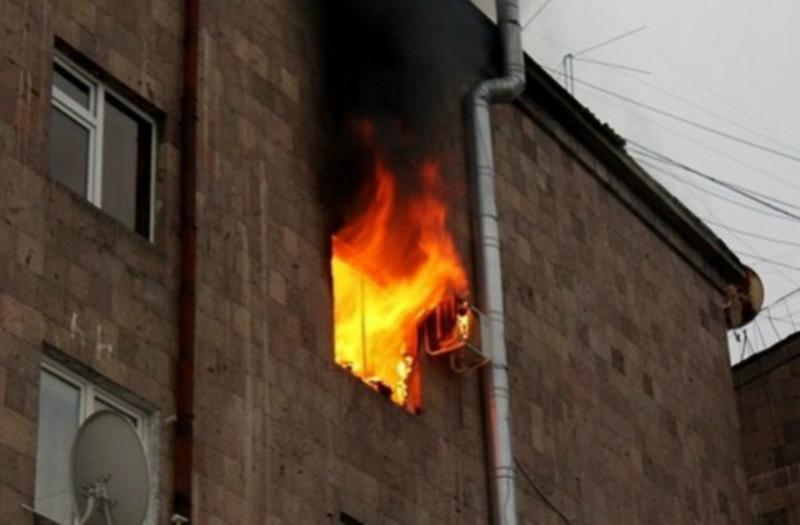 Աբովյան քաղաքի բնակարաններից մեկում հրդեհ է բռնկվել