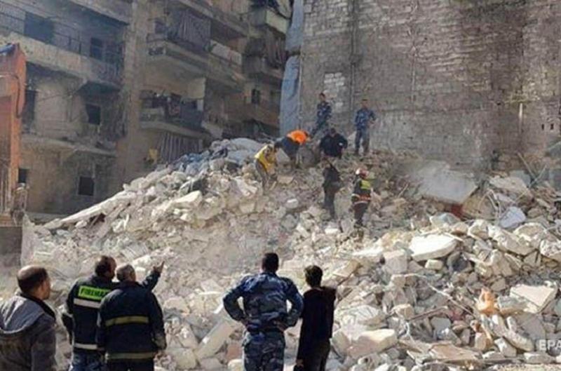 Հալեպում բնակելի շենքի փլուզման հետևանքով 9 մարդ է մահացել