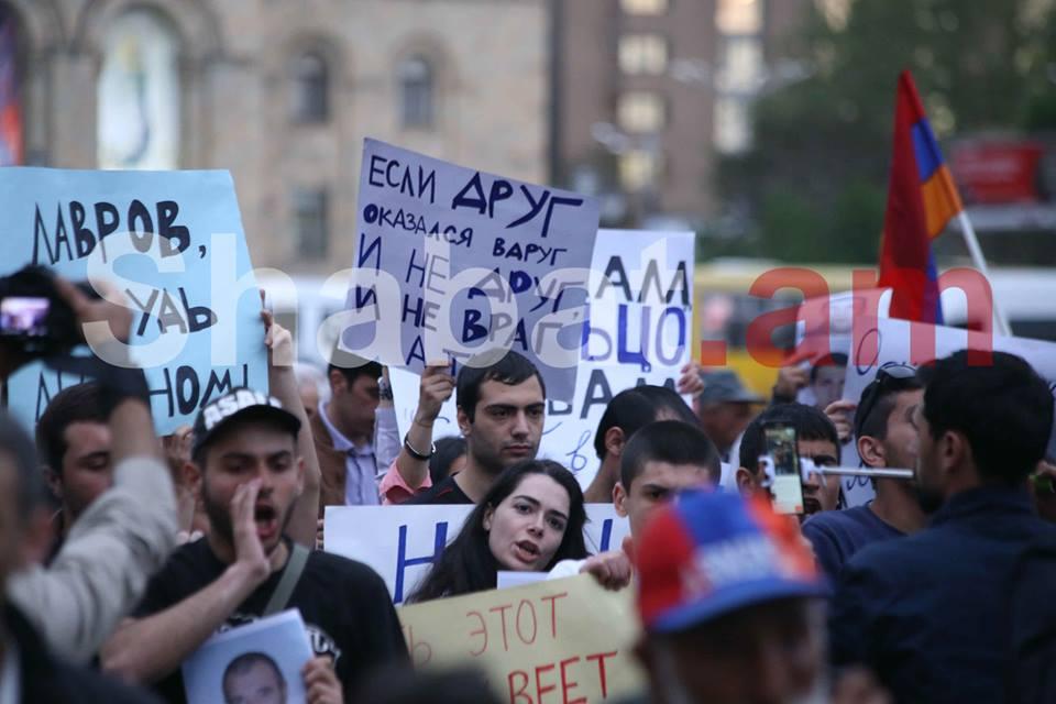 «Ձեռքներդ հեռու Արցախից». բողոքի ակցիան` լուսանկարներով