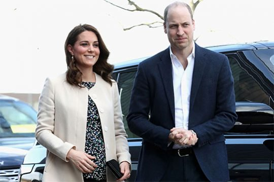 Արքայազն Վիլյամը բացահայտել է Քեյթ Միդլթոնի հետ իրենց երրորդ երեխայի սեռը
