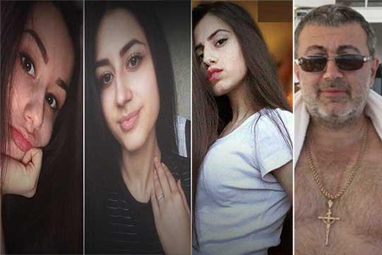 Դատարանը երկու ամսով կալանավորել է Մոսկվայում հորը սպանած երեք քույրերին