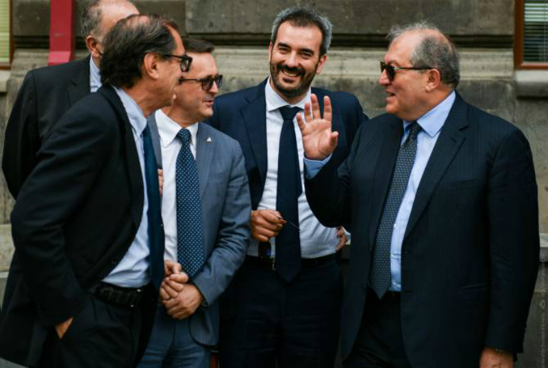 Իտալական հայտնի շինարարական ընկերությունը պատրաստ է վերականգնման ծրագիր իրականացնել Գյումրիում