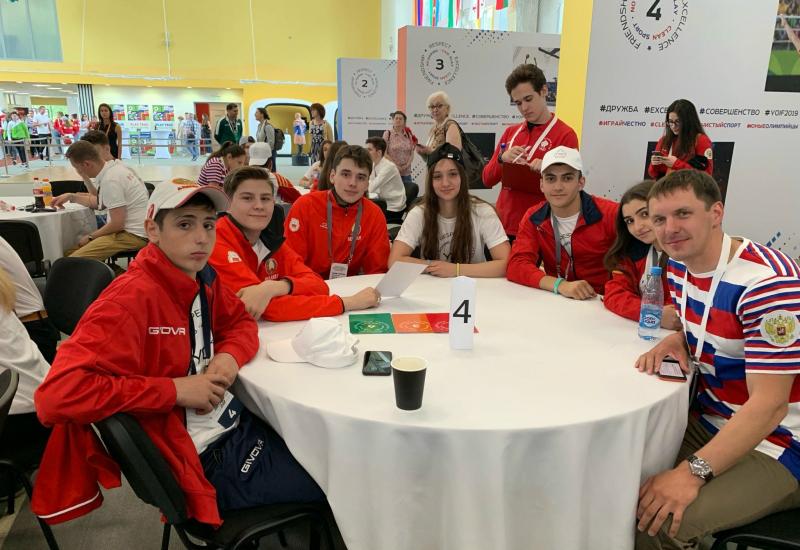 Պատանի մարզիկները վերադարձել են Մոսկվայից