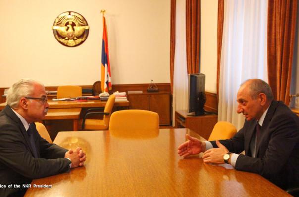 Բ. Սահակյանի և Պ. Թերզյանի հանդիպման ընթացքում քննարկվել են «Հայաստան» համահայկական հիմնադրամի կողմից ԱՀ–ում իրականացվող մի շարք ծրագրեր