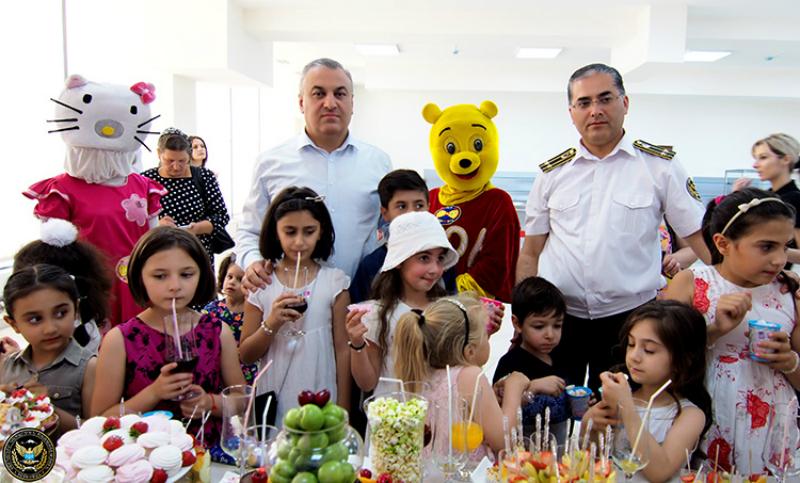 Հարկադիր կատարման ծառայությունում նշվել է Երեխաների պաշտպանության միջազգային օրը