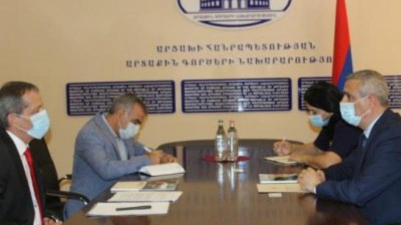 Մասիս Մայիլյանն ընդունել է Արցախում Կարմիր խաչի միջազգային կոմիտեի առաքելության նորանշանակ ղեկավարին