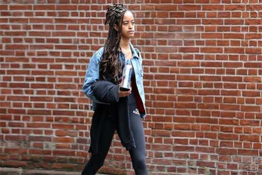 19-ամյա Մալիա Օբաման կարող է մրցել ցանկացած մոդելի հետ
