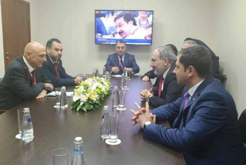 Մեկնարկել է Նիկոլ Փաշինյանի և Իսրայելի էկոնոմիկայի նախարարության նորարարության կենտրոնի տնօրենի հանդիպումը