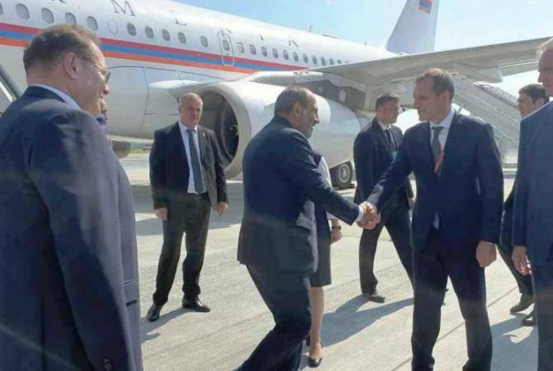 Նիկոլ Փաշինյանը ժամանեց Սանկտ Պետերբուրգ