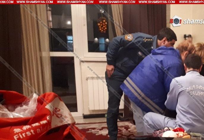 Արտակարգ դեպք Երևանում. 31-ամյա կինը ինքնասպանության փորձ է արել