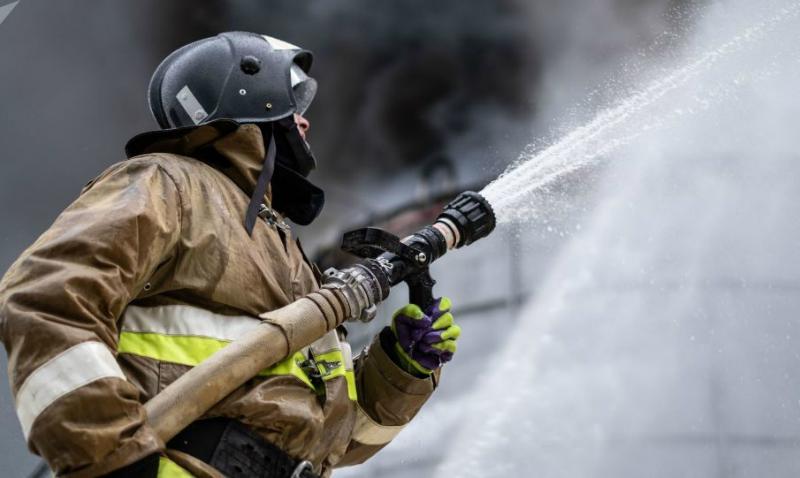 Մոսկվայի կենտրոնում պատմական շինություն է այրվում