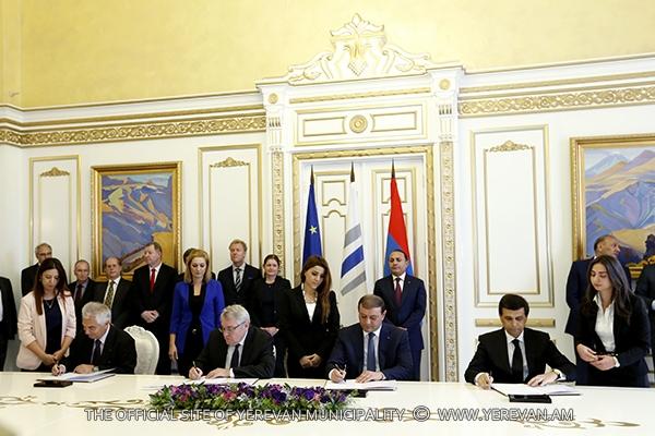 Ստորագրվել է փոխըմբռնման հուշագիր. նախատեսվում է ստեղծել թափոնների կառավարման միջազգային չափանիշներին համապատասխան համակարգ