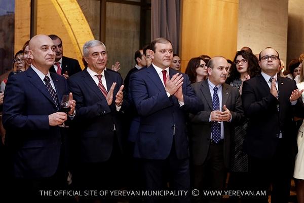 Քաղաքապետ Տարոն Մարգարյանը ներկա է գտնվել ՄԱԿ-ի 70-ամյակին նվիրված միջոցառմանը
