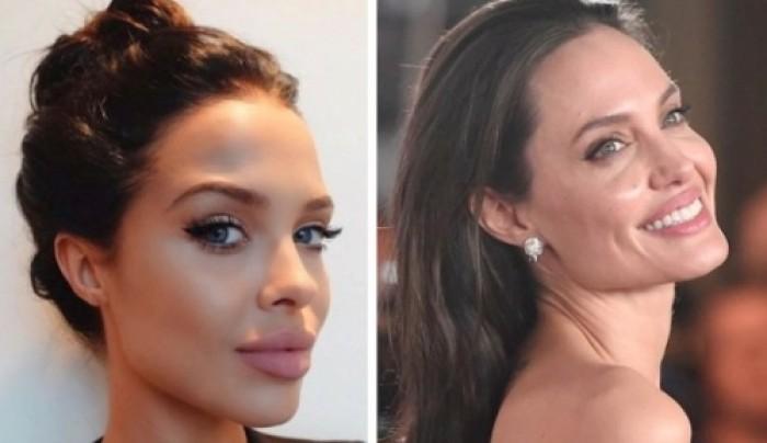21-ամյա ամերիկյան մոդելը Անջելինա Ջոլիի նմանակն է