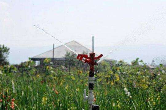 Ցածր ջերմաստիճանի ազդեցությունը մեղմելու համար գյուղացիները ոռոգման ջրի խնդիր չեն ունենա