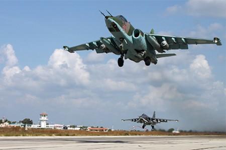 ՌԴ-ի ինքնաթիռները Սիրիայում ռեկորդային թվով թռիչքներ են իրականացրել