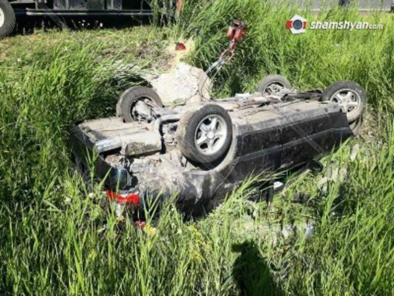 Գեղարքունիքում 42-ամյա վարորդը Mercedes-ով գլխիվայր հայտնվել է ձորակում. կա վիրավոր (ֆոտո)